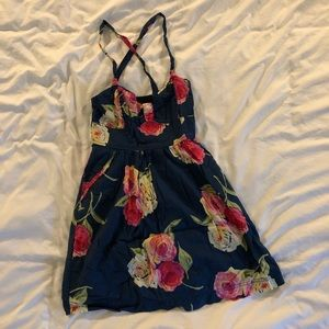 Abercrombie and Fitch floral mini dress XS